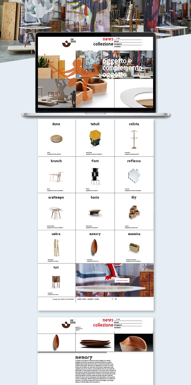 DESINE oggetto e complemento oggetto – Sito web