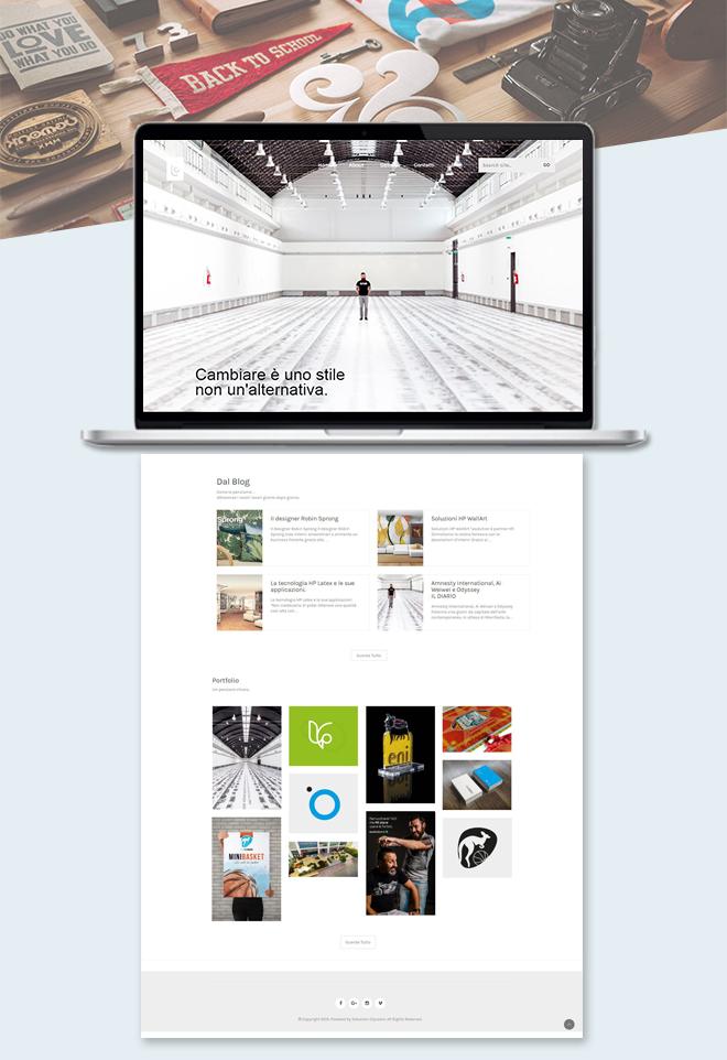 Esolution – Sito web grafico