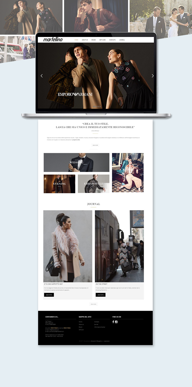 Martellino – Sito Web abbigliamento uomo e donna
