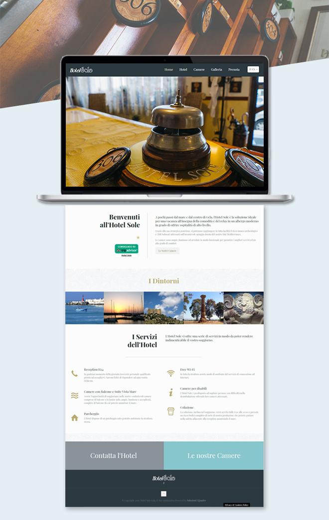 Hotel Sole Gela – Sito web attività ricettiva