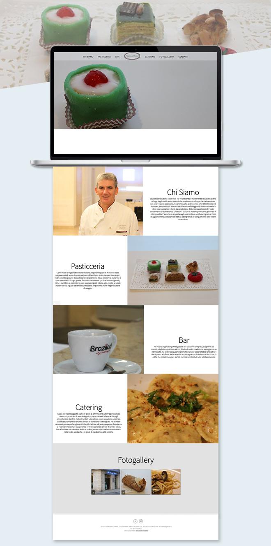 Pasticceria Catania – Sito web onepage attività commerciale