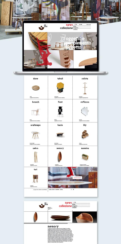 DESINE oggetto e complemento oggetto – Sito web ecommerce
