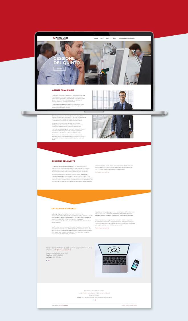 Money Credit Gela – Sito Web tema custom one page