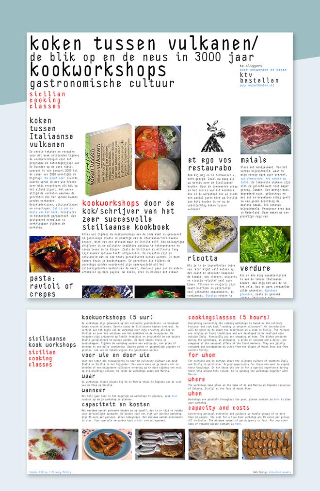 koken tussen vulkanen – Sito web blog custom
